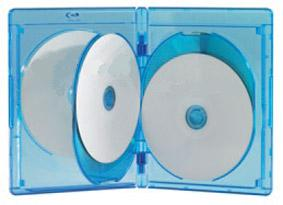 Blu-ray One-Time Lockable 5 Disc Case