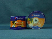 DVD-R 16x Verbatim (Spindle Pack)