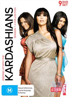 Keeping Up With The Kardashians - Collection : Seasons 1-4