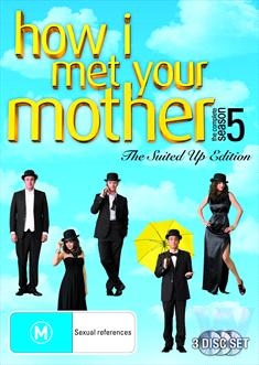 HOW I MET YOUR MOTHER: SEAS 5 (3 DISC)