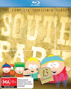 South Park: The Complete Thirteenth Season (Blu-Ray)