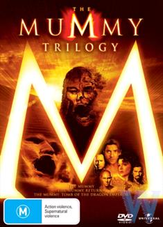 MUMMY TRILOGY DVD - 1, 2 &amp; 3