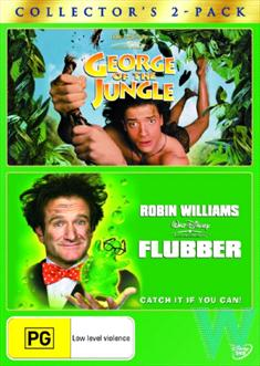 George Of The Jungle (1997)  /  Flubber (1997)