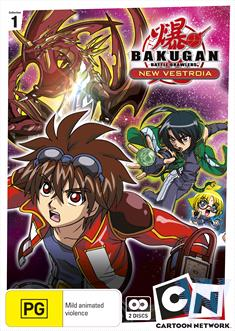 Bakugan - New Vestoria : Collection 1