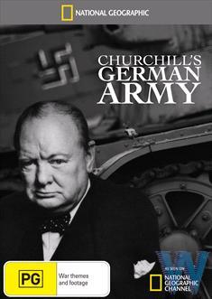 Niemiecka armia Churchilla / Churchill's German Army (2010) PL.TVRip.XviD / Lektor PL