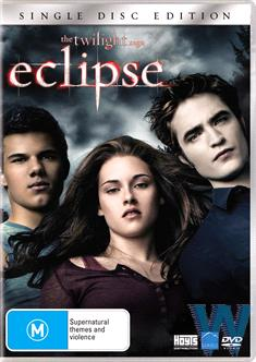 TWILIGHT SAGA: ECLIPSE 1 DISC