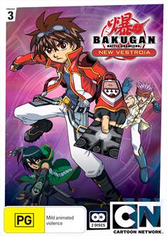 Bakugan - New Vestoria : Collection 3