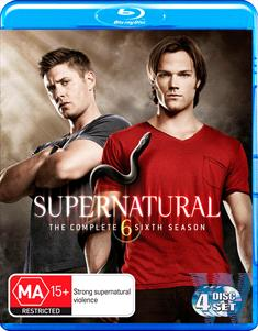 4-BDS-SUPERNATURAL THE COMPLETE SIXTH SEASON