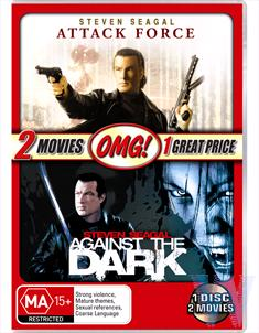 2 MOVIE PACK (AGAINST THE DARK / ATTACK FORCE) - OMG!