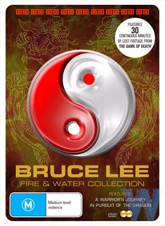 Bruce Lee Fire And Water Tin