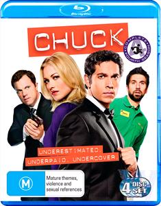 4-BDS-CHUCK THE COMPLETE FOURTH SEASON