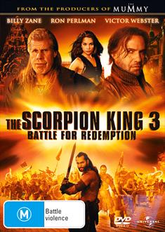SCORPION KING 3, THE: BATTLE FOR REDEMPTION DVD