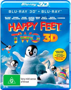 Happy Feet Two | 3D + 2D Blu-ray