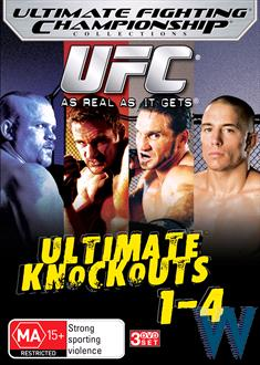 UFC - Ultimate Knockouts : Collection 1-4