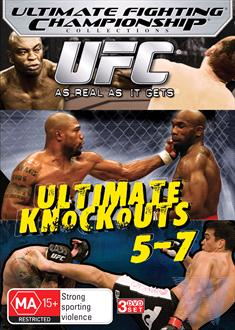 UFC - Ultimate Knockouts 5-7 | Boxset