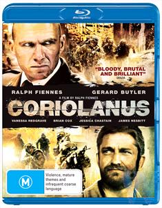 Coriolanus (first time)