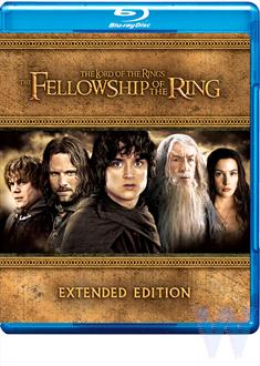 Lord of the Rings, Fellowship of the Ring Ext Ed BD Singles