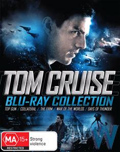 TOM CRUISE BLU-RAY COLLECTION (TOP GUN, COLLATERAL, THE FIRM, WAR OF THE WORLDS, DAYS OF THUNDER)