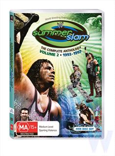 WWE - Summerslam Anthology : Vol 2