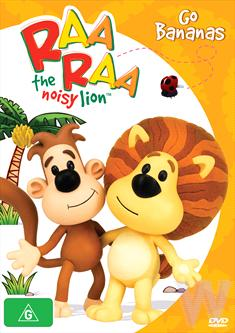 Raa Raa The Noisy Lion Go Bananas