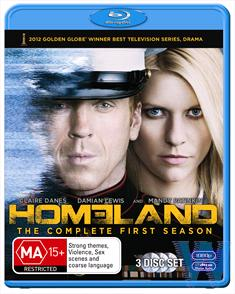 BLU: HOMELAND: SEAS 1 (3 DISC)