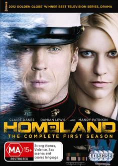 HOMELAND: SEAS 1 (4 DISC)