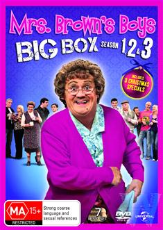 Mrs Brown'S Boys Xmas Special / Mammy'S Xmas / The Virgin Mammy / Mrs. Brown'S Boys: Series 1 / Mrs. Brown'S Boys: Series 2 / Mrs. Brown'S Boys: Series 3 - 7 Disc