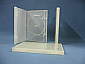 DVD Zenith Single / Double Lockable Case - CLEAR