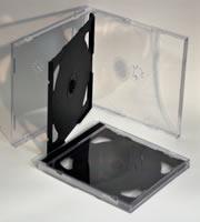 CD Jewel 3-disc Triple Black 10.2mm