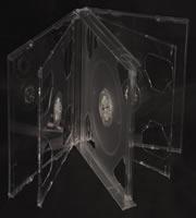 CD Jewel 6-disc Clear 24mm (Assembled)