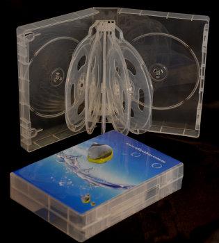 DVD 12-disc Clear Case 39mm