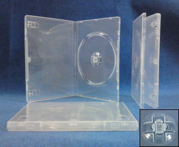 DVD Single Clear Case (14mm)