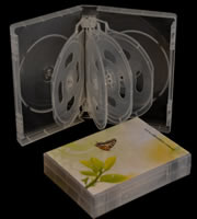DVD 9-disc Clear Case 33mm