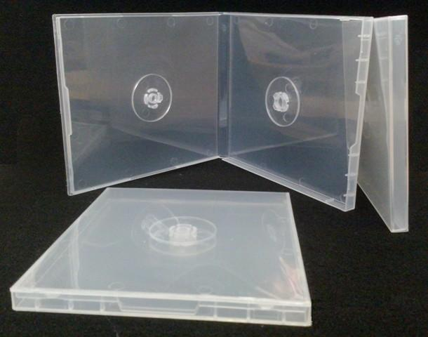 CD Caddie Double Clear 10mm