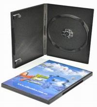 DVD Single Black Case 65gm (14mm)