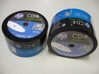 photograph about Hp Printable called CD-R 52x 700mb HP Inkjet Printable - DVD Warehouse