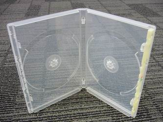 DVD One-Time Lockable Double Clear Case