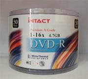 DVD-R 16x Intact (Bulk Pack)
