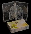 DVD 10-disc Clear Case 33mm