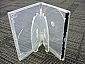 DVD One-Time Lockable 5-disc Clear Case