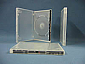 DVD One-Time Lockable Single Clear Case