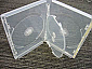 DVD One-Time Lockable 4-disc Clear Case