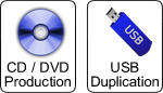 CD, DVD & USB Duplication or Replication